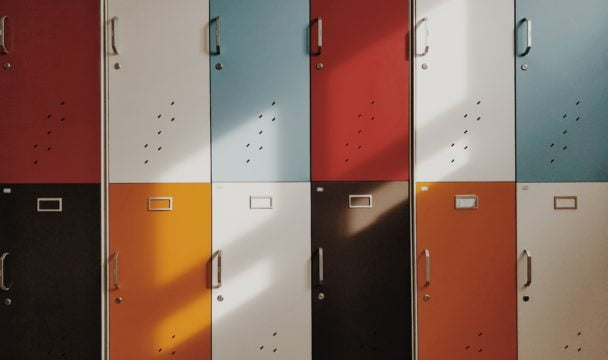 school lockers - why you need structure in your life
